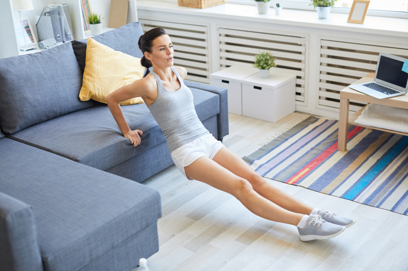 Rutina de ejercicios para hacer en casa en cuarentena
